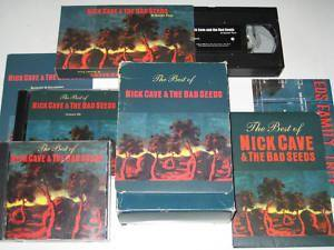 Nick Cave And The Bad Seeds: The Best Of Nick Cave & The Bad Seeds (2-Promo-CD + Promo-VHS) - Bild 1