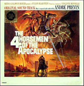 Cover - André Previn: 4 Horsemen Of The Apocalypse, The