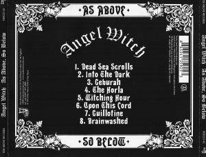 Angel Witch: As Above, So Below (CD) - Bild 4