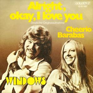 Cover - Windows: Alright, Okay, I Love You