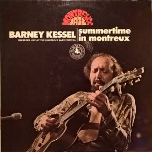 Barney Kessel: Summertime in Montreux - Cover