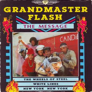 Cover - Grandmaster Flash: Message, The