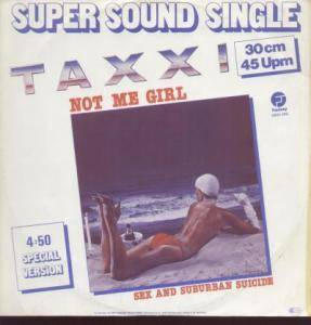Cover - Taxxi: Not Me Girl