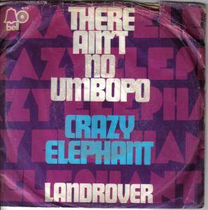 Cover - Crazy Elephant: There Ain't No Umbopo