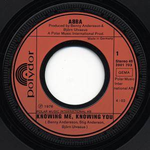 "ABBA: Knowing Me, Knowing You (7"") - Bild 2"