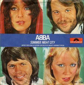 "ABBA: Summer Night City (7"") - Bild 1"