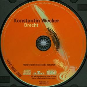 Konstantin Wecker: Brecht (CD) - Bild 3