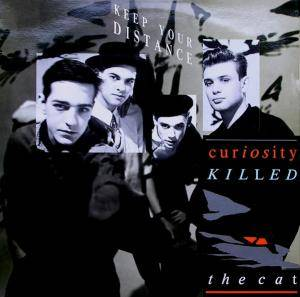 Curiosity Killed The Cat: Keep Your Distance - Cover