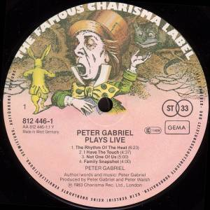 Peter Gabriel: Plays Live (2-LP) - Bild 3