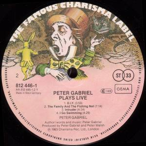 Peter Gabriel: Plays Live (2-LP) - Bild 4