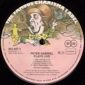 Peter Gabriel: Plays Live (2-LP) - Bild 7
