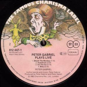 Peter Gabriel: Plays Live (2-LP) - Bild 8