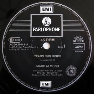 "Marc Almond: Tears Run Rings (12"") - Bild 3"