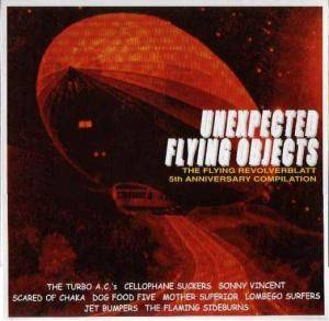 Unexpected Flying Objects - Cover