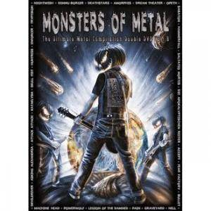 Monsters Of Metal Vol. 8 - Cover