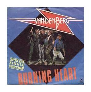 Cover - Vandenberg: Burning Heart