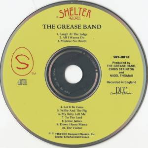 The Grease Band: The Grease Band (CD) - Bild 3