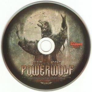 Powerwolf: Alive In The Night (CD) - Bild 6