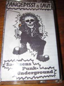 Cover - Idiot Savant: Angepisst & Laut - Sachsens Punk-Undeground