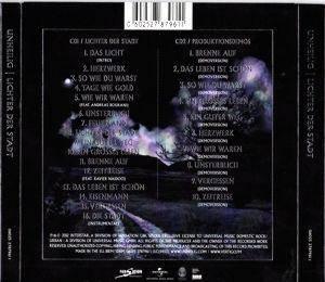 unheilig lichter der stadt album