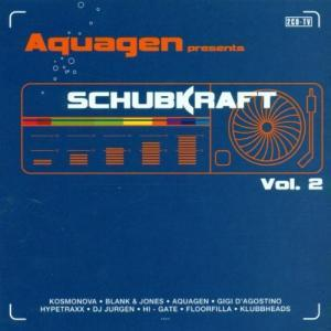 Aquagen Presents: Schubkraft Vol. 2 - Cover