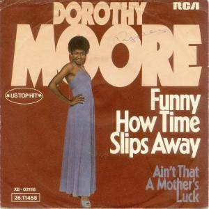 Cover - Dorothy Moore: Funny How Time Slips Away