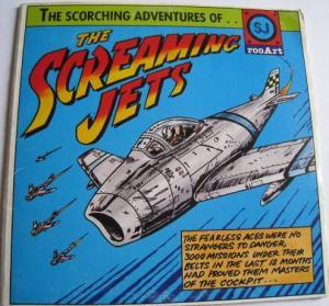 Screaming Jets, The: Scorching Adventures Of..., The - Cover