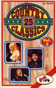Cover - Razzy Bailey: 25 Country Classics - Vol.2 -