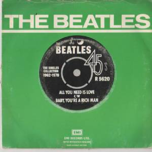 "The Beatles: All You Need Is Love (7"") - Bild 2"