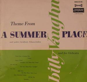 Cover - Billy Vaughn & His Orchestra: Theme From A Summer Place