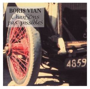 Cover - Mouloudji: Boris Vian - Chansons Pas Possibles