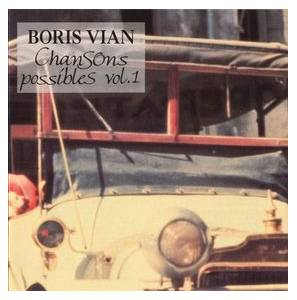 Cover - Mouloudji: Boris Vian - Chansons Possibles - Vol. 1