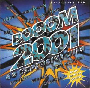 Booom 2001 - The First - Cover