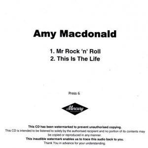 Cover - Amy Macdonald: Mr Rock 'n' Roll / This Is The Life