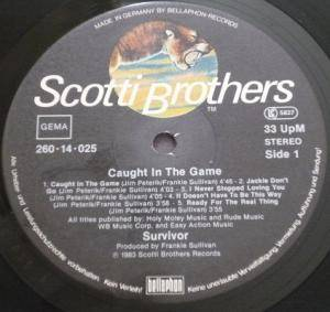 Survivor: Caught In The Game (LP) - Bild 5