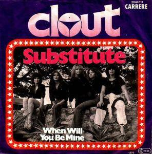 Clout: Substitute - Cover