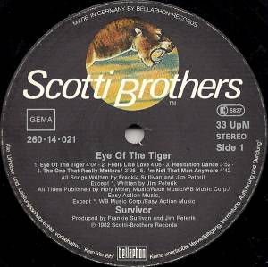 Survivor: Eye Of The Tiger (LP) - Bild 3