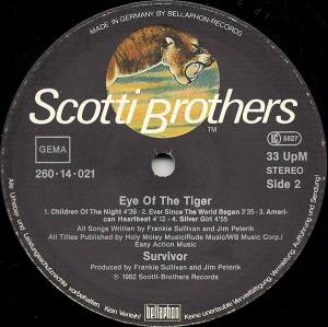 Survivor: Eye Of The Tiger (LP) - Bild 4