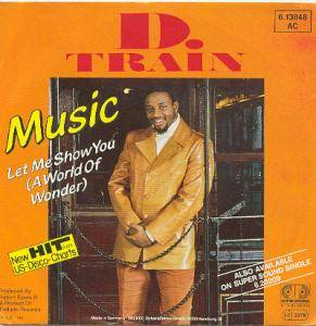 Cover - D-Train: Music