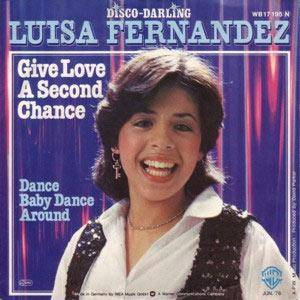 Cover - Luisa Fernandez: Give Love A Second Chance