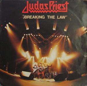 Judas Priest: Breaking The Law - Cover