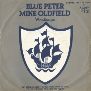 Mike Oldfield: Blue Peter - Cover
