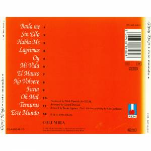 Gipsy Kings: Este Mundo (CD) - Bild 2