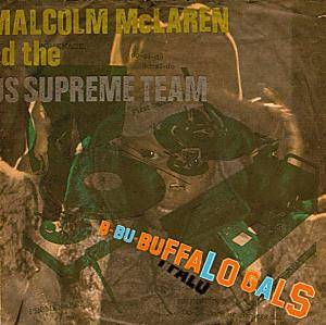 Malcolm McLaren & The World's Famous Supreme Team: Buffalo Gals - Cover