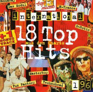 Cover - Haddaway: 18 Top Hits Aus Den Charts - 1/96