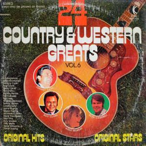 24 Country & Western Greats Vol. 6 - Cover