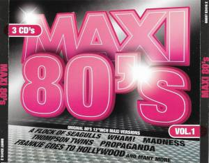 Cover - Daryl Hall & John Oates: Maxi 80's Vol. 1