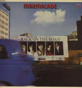 Cover - Marmalade, The: Back On The Road
