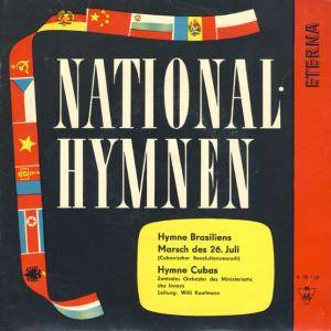 Cover - Zentrales Orchester Des Ministeriums Des Innern: Nationalhymnen