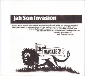Cover - Tyrone Evans: Jah Son Invasion